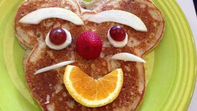 Photo of Lucia's Cornmeal Pancakes