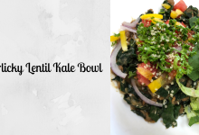 Photo of Lucia's Garlicky Lentil Kale Bowl
