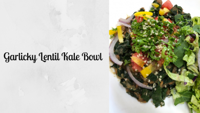 Photo of Lucia's Garlicky Lentil Kale Bowl