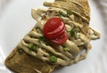 Photo of Lucia's Savory Garbanzo Crepes