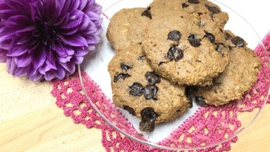 Photo of Lucia's Oatmeal Carob Chip Cookies