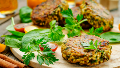 Photo of Better Millet Burgers