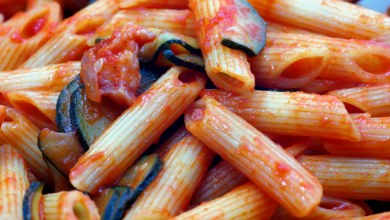 Photo of Garbanzo Zucchini Pasta